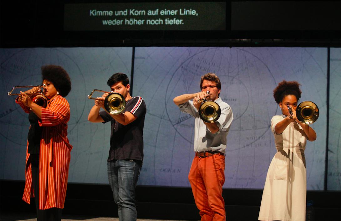 Granma, Posaunen aus Havanna, Rimini Protokoll, Kaserne, Zürich, Festival, Theater, szenik,