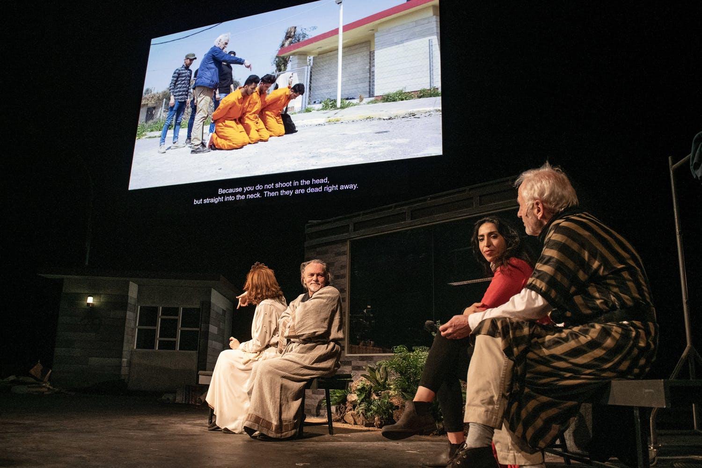 Orestes in Mosul, NT Gent, Milo Rau, Bruxelles, Zurich, szenik, theatre,