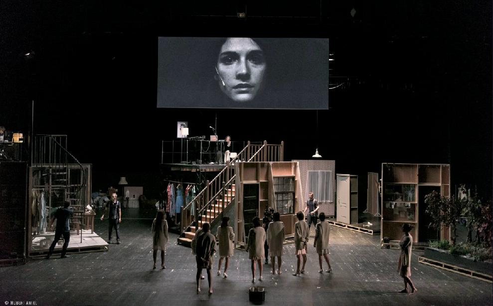 Théâtre live : Sylvia de Fabrice Murgia avec le An Pierlé Quartet I Théâtre National Wallonie-Bruxelles