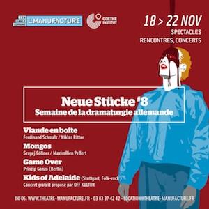 Manufacture Nancy festival Neue Stücke 2019 szenik