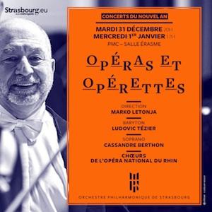 Orchestre philharmonique de Strasbourg Saison 2019-2020 Opéras et Opérettes Concert du Nouvel An szenik
