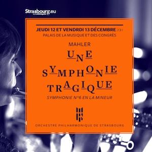 Orchestre philharmonique de Strasbourg Saison 2019-2020 SYMPHONIE TRAGIQUE Josep Pons szenik