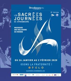 Sacrées Journées 2020 Strasbourg szenik