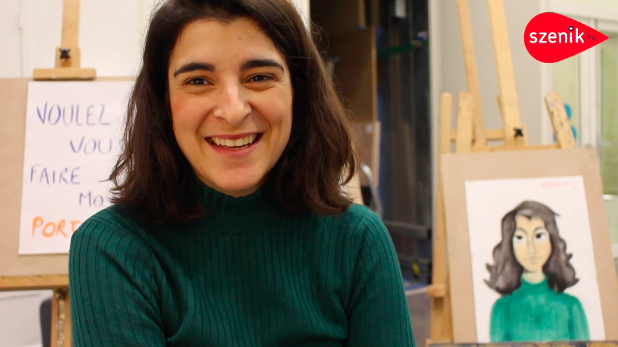 ENTRETIEN AVEC OLIVIA HERNAÏZ, ARTISTE BELGO-ESPAGNOLE : WOULD YOU LIKE TO MAKE MY PORTRAIT ?