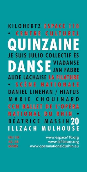 Espace110 Quinzaine de la danse 2020 szenik