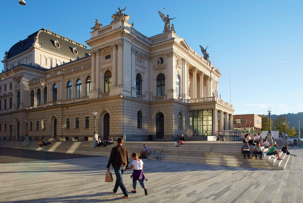 Das Opernhaus Zürich bietet drei kostenlose Live-Streamings an einem Wochenende an.