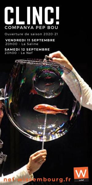 La Nef Wissembourg Saison 2020-2021 CLINC! szenik