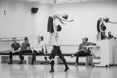 Ballettprobe © Ballett Zürich