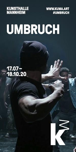 KUMA Kunsthalle Mannheim UMBRUCH 2020 szenik