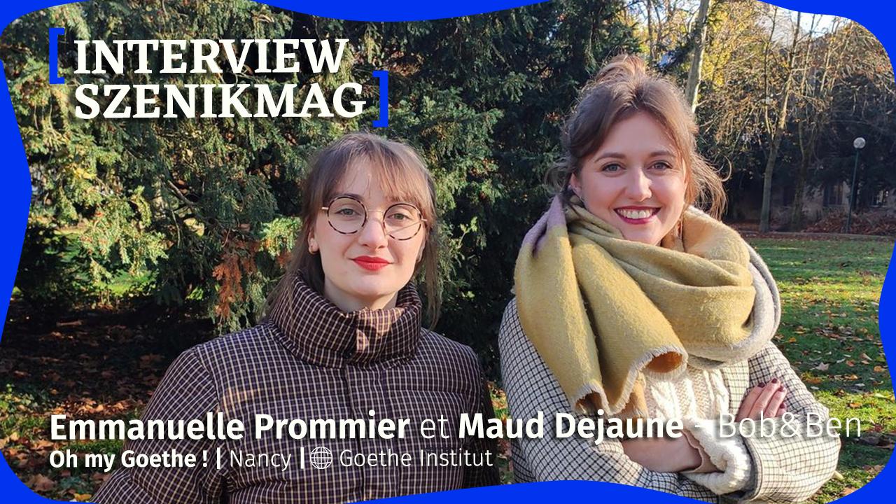 Oh my Goethe : interview avec les entrepreneuses de Bob&Ben