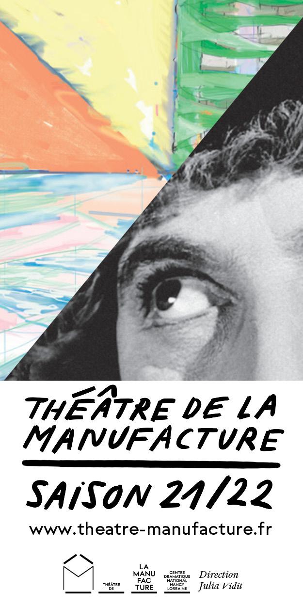 Le Théâtre de la Manufacture à Nancy