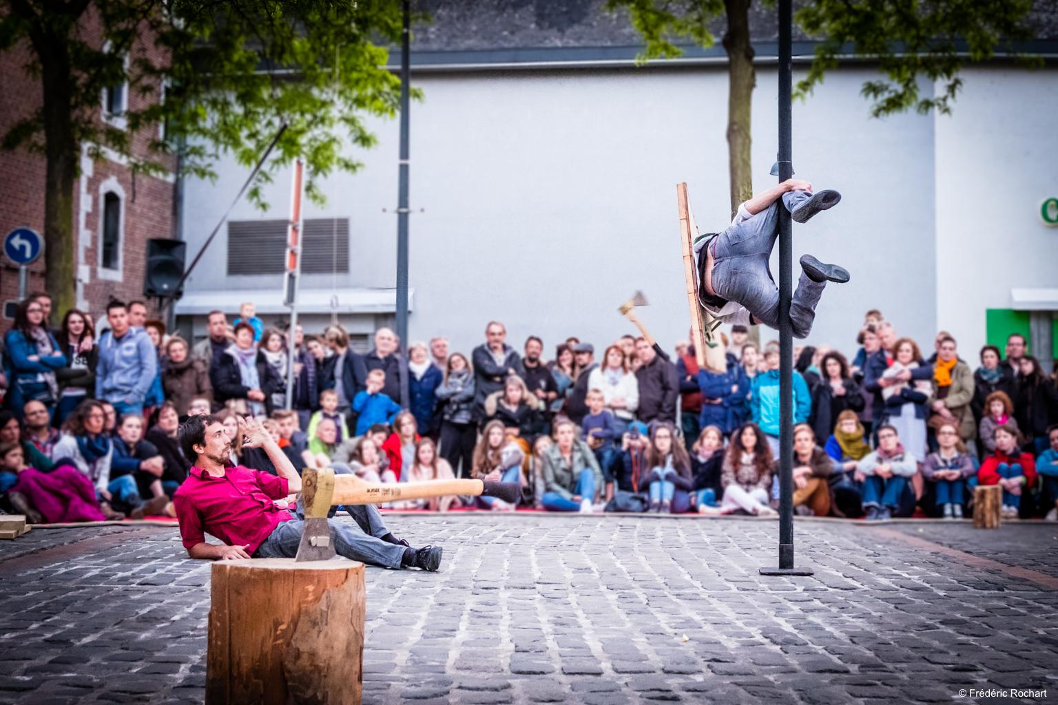 Rencontre : La Compagnie One Shot au Festival FARSe de Strasbourg